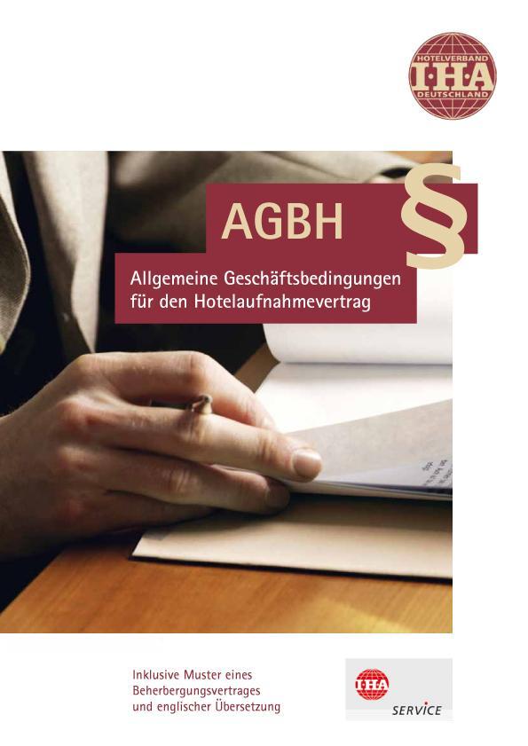 allgemeine geschftsbedingungen hotelaufnahmevertrag - Allgemeine Geschaftsbedingungen Muster