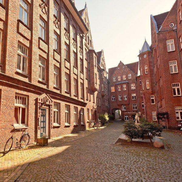 Burghof apartment ferienwohnung in backsteinarchitektur in flensburg zentrum - Architektur flensburg ...