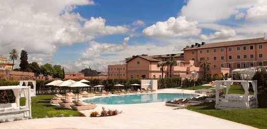 Ultimatives luxushotel in italien gran meli rome ffnet for Villa agrippina rome
