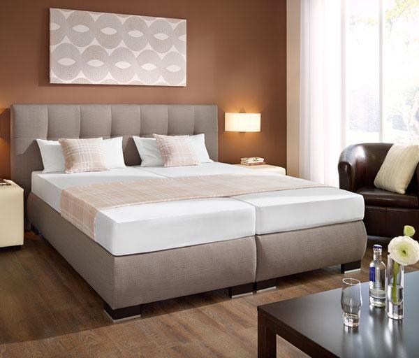 boxspringbetten von hotelw sche erwin m ller schlafen wie auf wolken. Black Bedroom Furniture Sets. Home Design Ideas