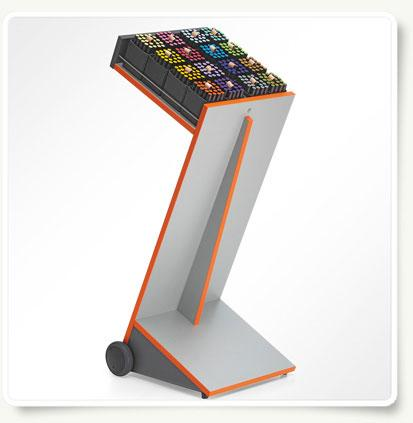 moderationsstation und rednerpult in einem modell z 11 novario. Black Bedroom Furniture Sets. Home Design Ideas