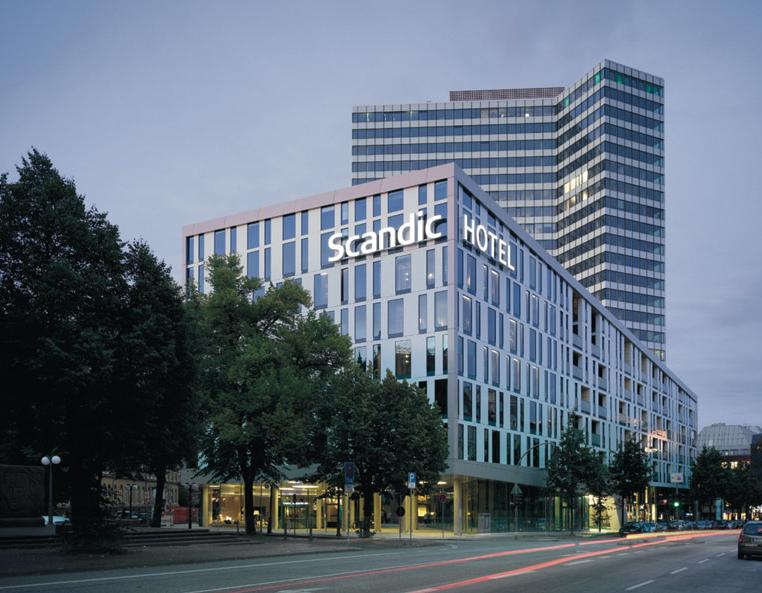 Kaldewei stattet das scandic hamburg emporio aus for Hamburg hotel innenstadt