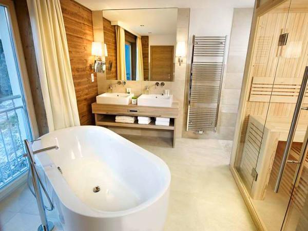 Wellness hotel ritzlerhof in tirol stattet b der mit hansa for Stylische wellnesshotels