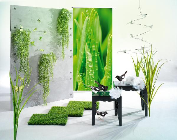 gr n wei e deko als fr hlingsboten einsetzen. Black Bedroom Furniture Sets. Home Design Ideas