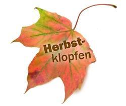 Herbstklopfen bei HOGAPAGE |