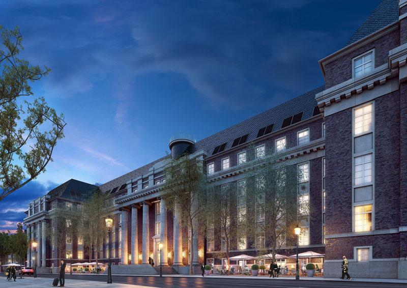 hyatt house d sseldorf erstes haus der marke in europa. Black Bedroom Furniture Sets. Home Design Ideas