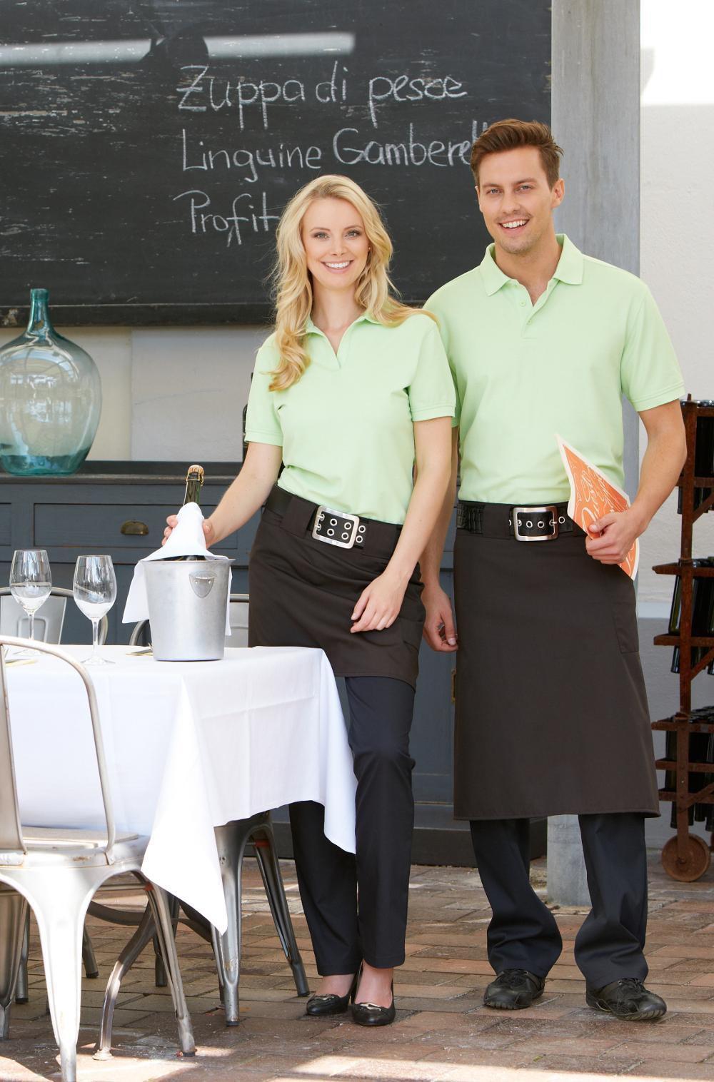 Berufsbekleidung Küche Damen | Berufsbekleidung Poloshirt Damen Herren Gunstig Von Cg Workwear