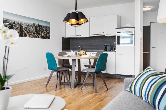 boardinghouse living room in bad homburg. Black Bedroom Furniture Sets. Home Design Ideas