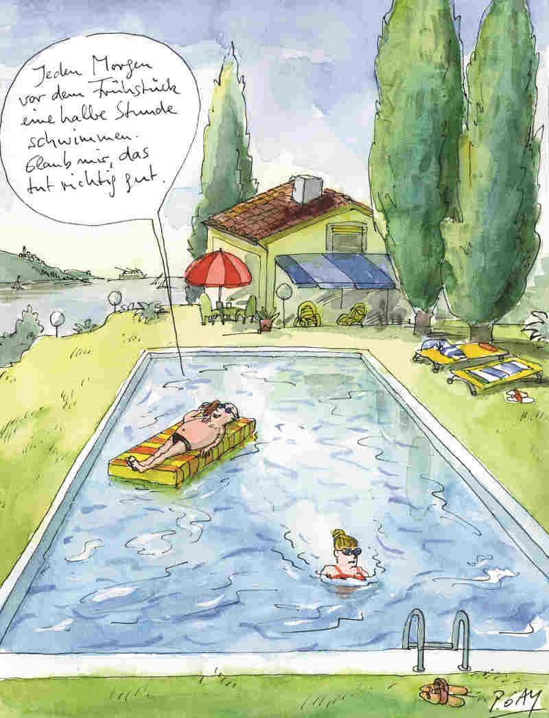 Lustige Cartoons Zum Urlaub Ist Es Die Schönste Zeit Des Jahres