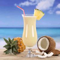 Pina Colada Cocktail - am liebsten als Sundowner am Strand