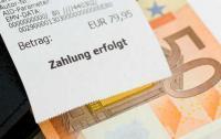Zahlung erfolgt: Cash an der Kasse
