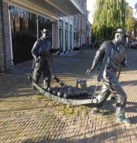 Bild: Die Käsewaage in Edam/Holland (September 2018), Bildquelle Hotelier.de