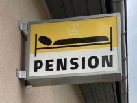 Piktogramm einer Pension