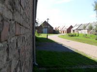 Das in seiner Gesamtheit (50 Scheunen) denkmalgeschützte Scheunenviertel in Kremmen / Ruppiner Land