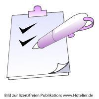 Über Checklisten organsiert alles prüfen