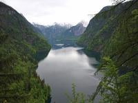 An Schönheit auch bei mäßigem Wetter kaum zu übertreffen: Der Königssee bei Berchtesgaden / Beide Fotos © Sascha Brenning - Hotelier.de