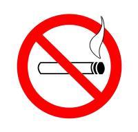 Nichtraucher Piktogramm