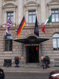 Das Hotel de Rome in Berlin - eines der Häuser der 'The Rocco Forte Hotels' / Foto © Sascha Brenning - Hotelier.de