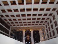 Berlin Marriott Hotel: Blick von oben auf das Foyer / Bildquelle: Sascha Brenning - Hotelier.de