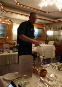 2 Sternekoch Marc Rennhack, tätig im Gourmet Tempel 'Sterneck' des Badhotel Sternhagen in Cuxhaven-Duhnen