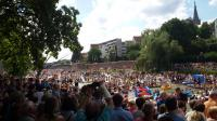 Ein Wahnsinnsevent: Das 'Nabada' auf der Donau in Ulm am Schwörmontag - immer am vorletzten Montag im Juli