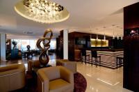 Lobby und Bar Hotel: ACHAT Premium Hotel München-Süd; Copyright: ACHAT Hotels Deutschland