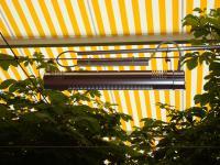 Schon unmittelbar nach dem Einschalten können sich die Gäste an der wohligen Wärme erfreuen, die die formschönen Infrarot-Heizstrahler von AEG abgeben