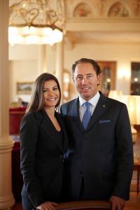 Jenny + Heinz E. Hunkeler / Bildquelle: AG Grand Hotels Engadinerkulm St. Moritz