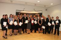 Abschlussfeier in der IHK zu Koblenz