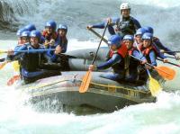 Aktivurlaub Österreich Ötzttal Rafting