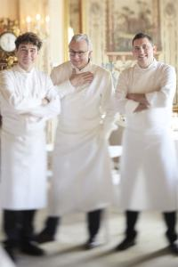 Alain Ducasse (in der Mitte) mit Kollegen / Copyright: Photo Centre de Press de Monaco