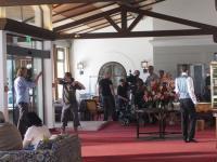 Impression des heutigen Tages aus der Lobby / Bildquelle: Alpenhof Murnau