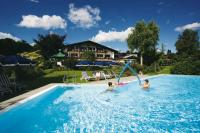 Wasserspaß im Garten / Bildquelle: Alpenhof Murnau
