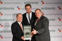 Von links nach rechts: S.E. Takeshi, Detlef Braun, Kevin C. Milas; Bildquelle MesseFrankfurt.com