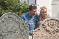 Grabsteine auf den Inseln Föhr und Amrum berichten aus längst vergangenen Zeiten....; Bildquelle Nordsee-Tourismus-Service GmbH