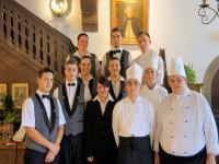 Die Auszubildenden des Hotels Eisenhut