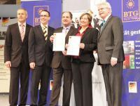 Von links nach rechts: Ulrich N. Brandl, Jörg Schlag, Jochem F. Eylardi,  Regina Schrödl-Palermini und Martin Zeil / Bildquelle: Arvena Hotels