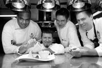 Atlantic Küchenteam, Peter Könemann (zweiter von links)