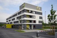 B&B Hotel Regensburg, Aussenansicht, Bildquelle © B & B HOTELS GmbH