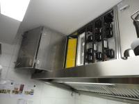 In die Küchenabluftanlage wurde ein Plasmatechnik-Modul eingebaut. Bildnachweis: BÄRO