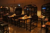Blick in den Gastraum: Das typisch bayrisch eingerichtete Restaurant