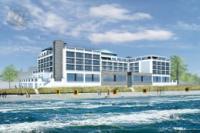 Das neue BAYSIDE Hotel eröffnet im April 2014 in Scharbeutz / Quelle: BAYSIDE Hotel