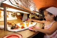 Buffet für die kleinen Gäste / Quelle: Baby & Kinder Bio-Resort Ulrichshof****