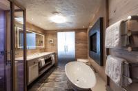 Badezimmer im STOCK resort Bild
