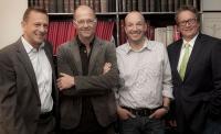 (v.l.n.r.: Jan H. Eitel, Wolfgang Becker, Andreas Thran, Ekkehard Herbst) / Bildquelle: Gourmet Connection GmbH