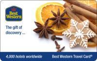Passend zur Weihnachtszeit gibt es wieder die besondere Geschenkidee: Die Best Western Travel Card mit Zimtduft. Bildquelle: Best Western Hotels Deutschland GmbH