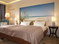 Auf jeden Fall ein gutes Bett samt angenehmer Decke im Upstalsboom Hotelresidenz & SPA Kühlungsborn / Foto © Sascha Brenning - Hotelier.de