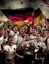 Auch die deutsche Nationalmannschaft freut sich über das Kronkorkengewinnspiel / Foto: Bitburger Braugruppe GmbH