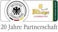 Deutscher Fußball Bund und Bitburger Brauerei verlängern Partnerschaft
