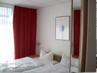...hohe Hotelzimmer geben dem Gast ein gutes Gefühl